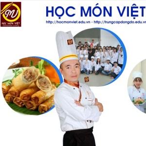 thầy Nguyễn Quang Hiệp giảng viên học món việt