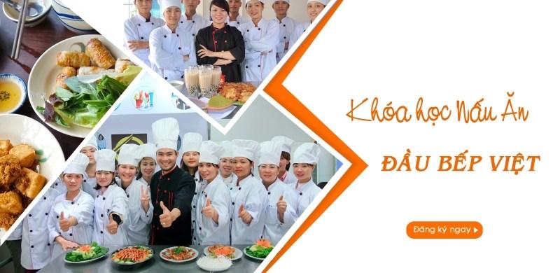 khai giảng khóa học đầu bếp việt - Học Món Việt