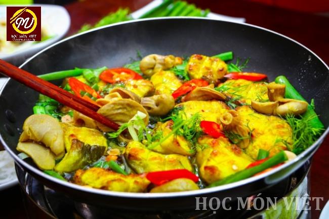 Top 5 món ăn Việt Nam nổi tiếng - chả cá Lã Vọng - Học Món Việt