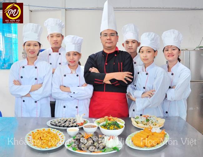 hình ảnh khóa học nấu ăn Đầu bếp Việt - Học Món Việt