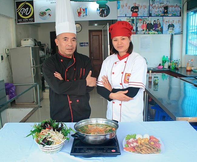 Lớp học món lẩu - học nấu ăn mở quán - Học Món Việt