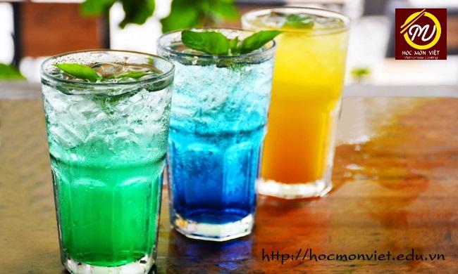 khóa học pha chế soda ý ngắn hạn - Học Món Việt