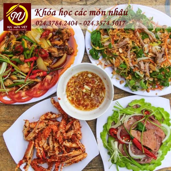 Khóa học các món nhậu - Học Món Việt