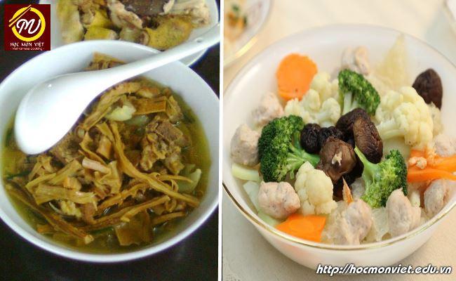 Món ăn ngon ngày Tết cánh bóng canh măng - Học Món Việt