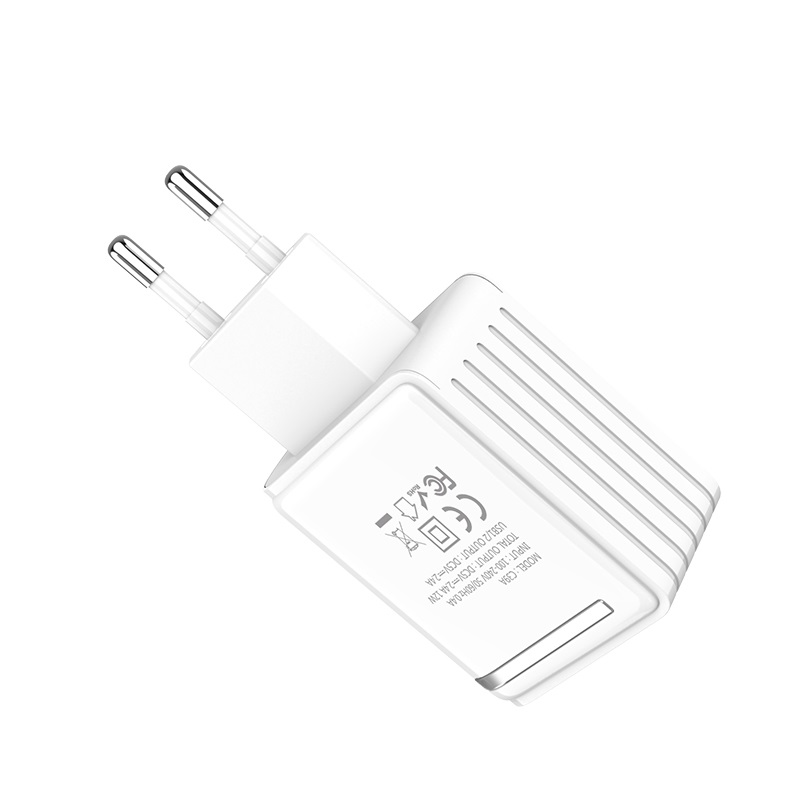 "Wall charger ""C39A Enchanting"" EU dual USB charging"