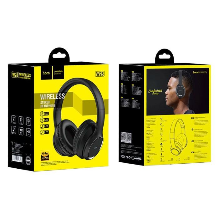 Hoco W28 Wireless Portable Headphones 6