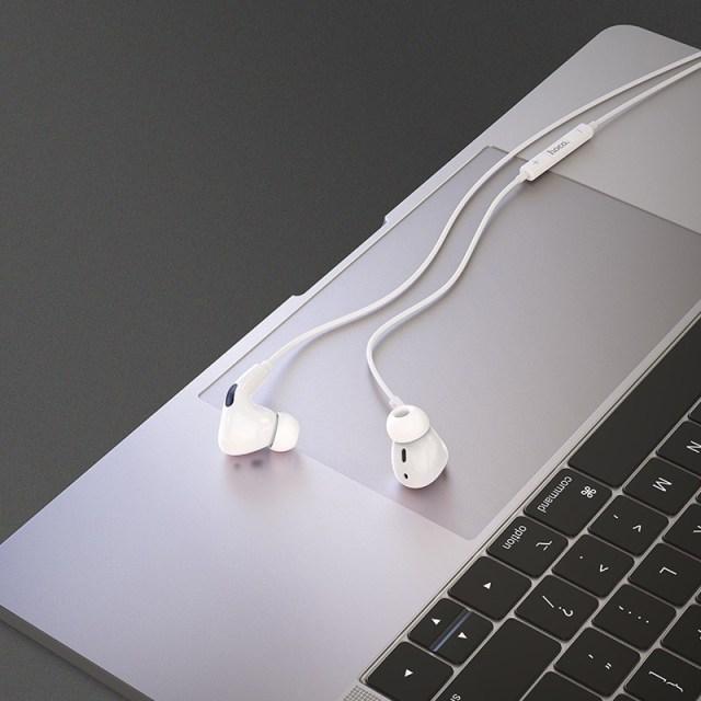 hoco m1 pro original series earphones for lightning interior