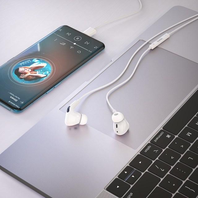 hoco m1 pro original series earphones for type c interior