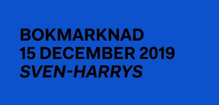 Hoc Press, bokmarknad, Philip Warkander, Sven-Harrys