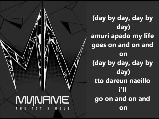 Cảm âm bài hát Day by day T-ARA