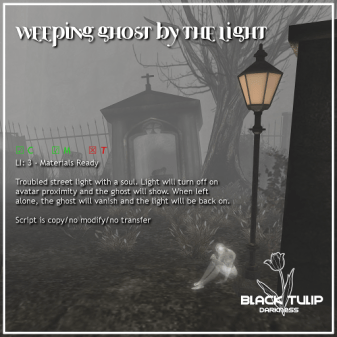 [Black Tulip] Weeping Ghost by the Street Light (ad)
