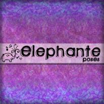__elephante poses__ Logo 1