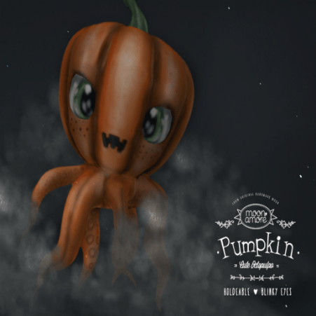 Moon Amore- pumpkin octopulpo add