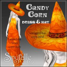 Spyralle Candy Corn for Hocus Pocus