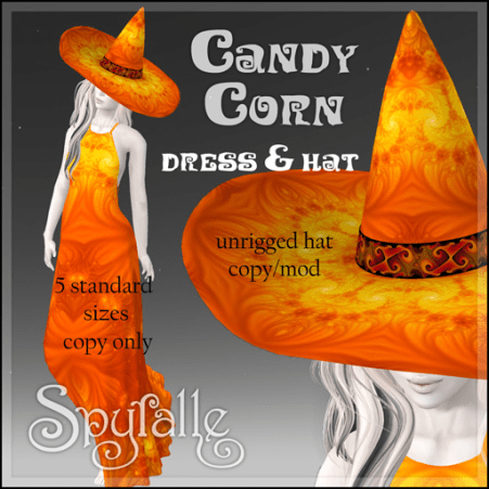 Spyralle Candy Corn for Hocus Pocus