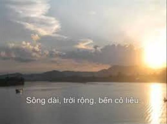 Phân tích Tràng Giang của nhà thơ Huy Cận hay nhất