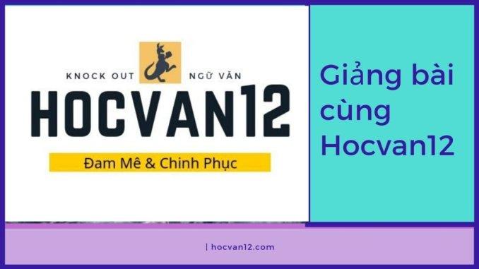 Giảng bài cùng Hocvan12