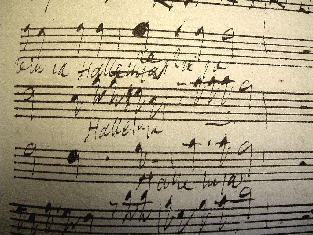 Copy of Original Draft Score by Handel