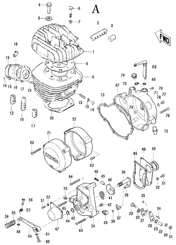Review the figure and make your selection of parts from