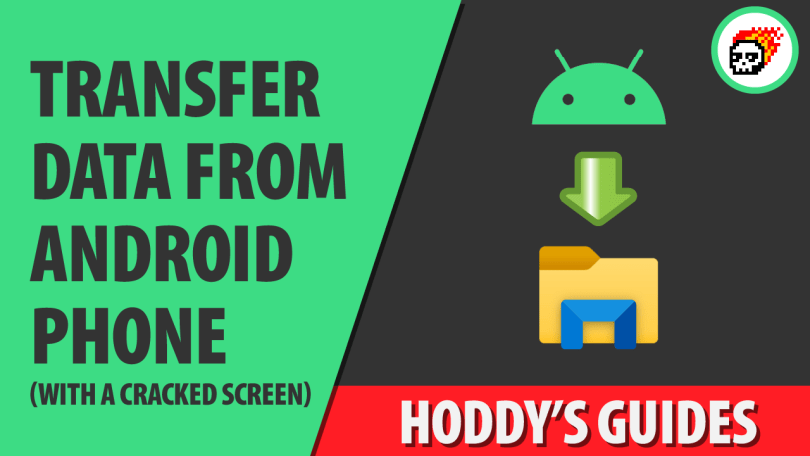 Transfer Data from broken android