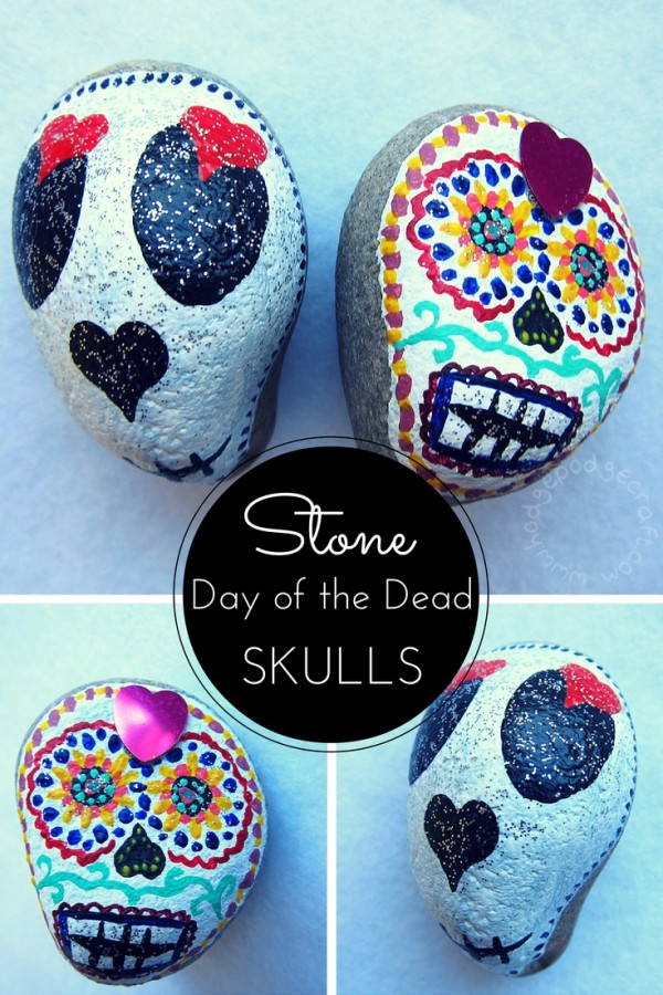 Sugar Skull Rock Painting : sugar, skull, painting, Painting:, Skulls