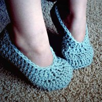 Simple Child Slippers