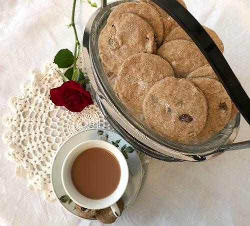 Recipe: Cinnamon & Raisin Shortbread