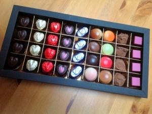Drop dead chocolates