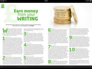 writing magazine feb 2014