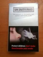 smoking & young children