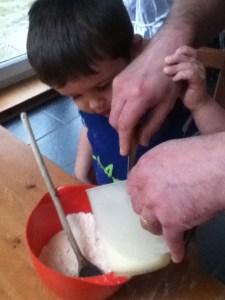 Pancake making