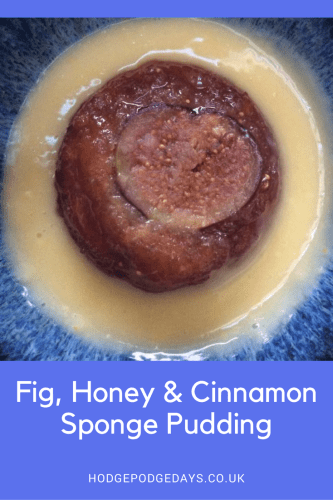 Recipe: Fig, Honey & Cinnamon Sponge Pudding