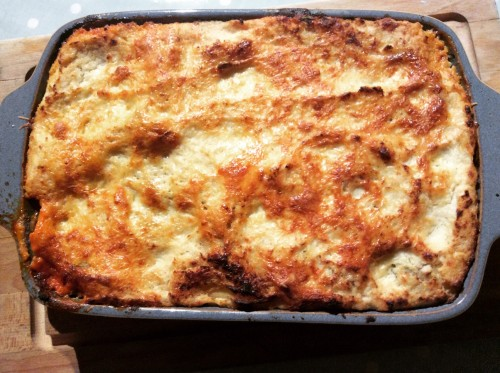Recipe: Sneaky Cauliflower Lasagne Sauce