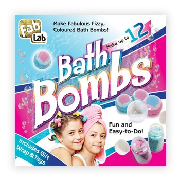 fablab bath bombs