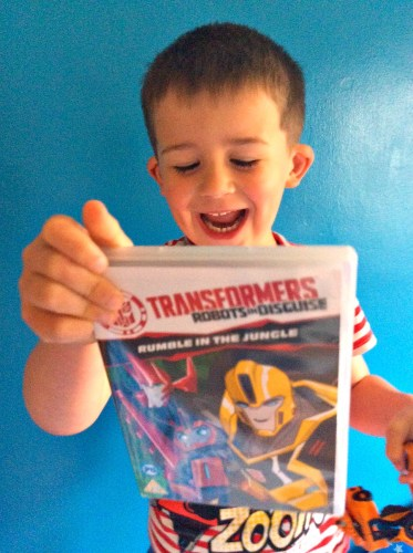 Transformers Rumble in the Jungle DVD