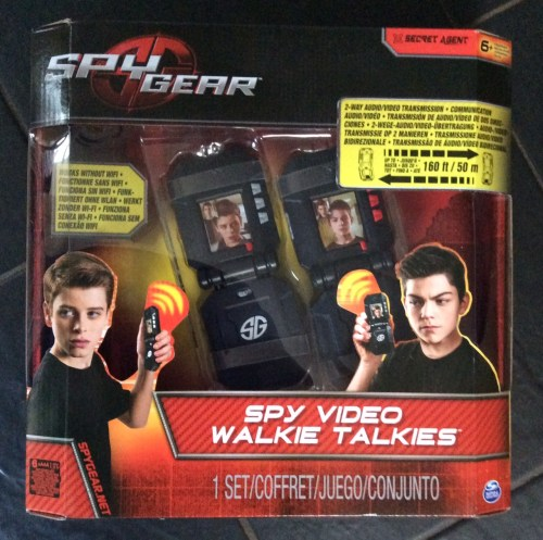 Toy Review: Spy Gear Spy Video Walkie Talkies