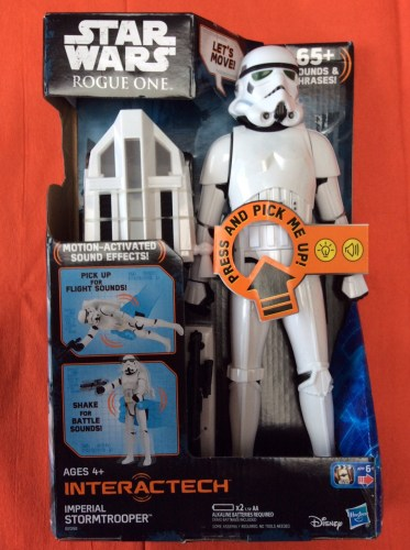 Review: Star Wars Rogue One Interactech Imperial Stormtrooper figure