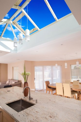 Making the most of natural light with aluminium roof lanterns