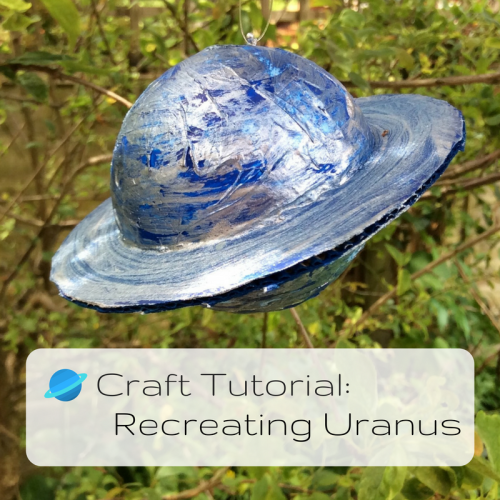 Craft Tutorial: Recreating Uranus (other planets are available)