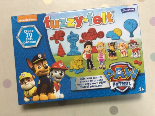 Toy Review: Fuzzy Felt Paw Patrol Set