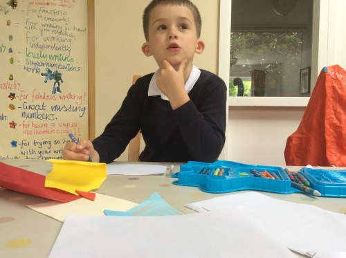 Living Arrows: The busy life of a six year old