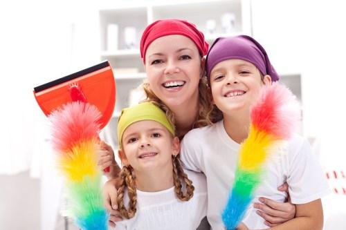 Easy ways of getting organised with Kids