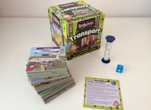 Giveaway & Review: Brainbox Transport Game