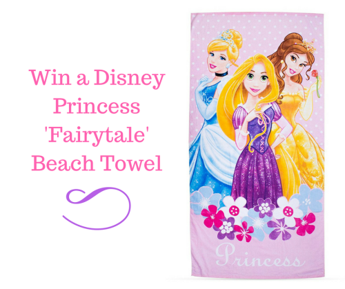 Win a Disney Princess 'Fairytale' Beach Towel