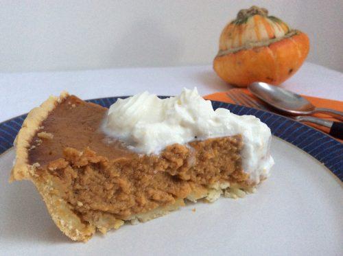 Recipe: Honey Spiced Pumpkin Pie