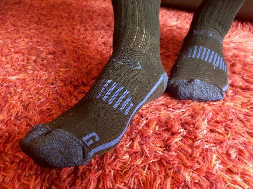 Review: Storm Bloc Socks - specialist sports socks