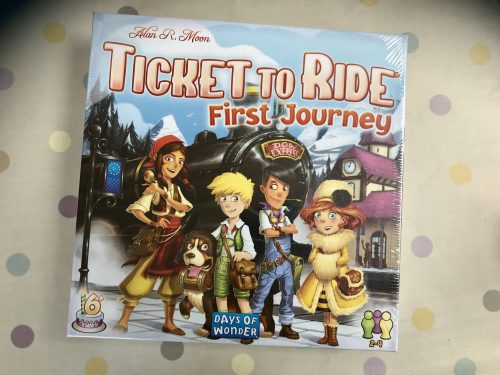 Board Game Club Review: Ticket to Ride First Journey