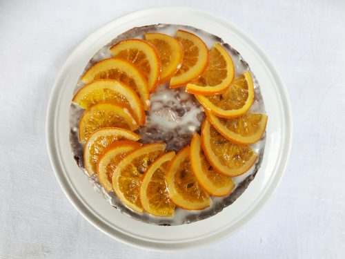 Recipe: Orange Poppy Seed Cake for Mother's Day Recipe: How to make Candied Orange Slices
