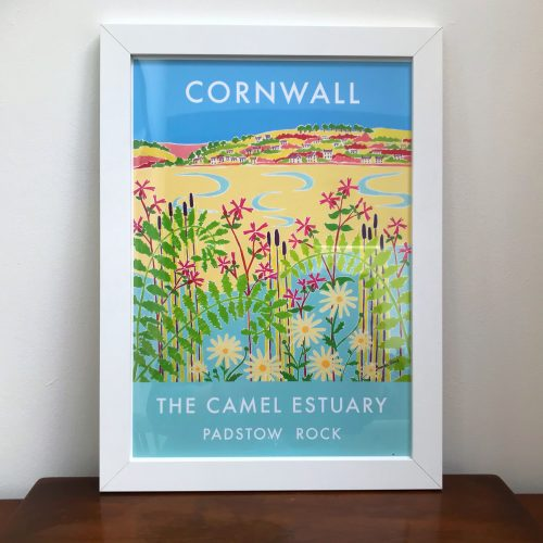 Holiday Memories: Vintage Style Cornish Art Posters