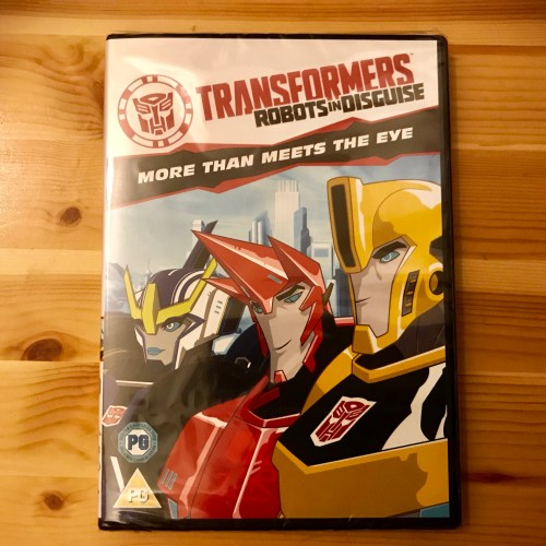 WIN A TRANSFORMERS: ROBOTS IN DISGUISE - MORE THAN MEETS THE EYE DVD